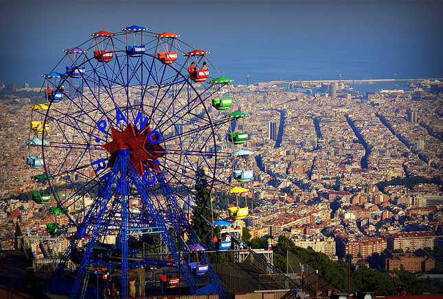 Tibidabo, Magic in the hights of Barcelona  Stay in Barcelona
