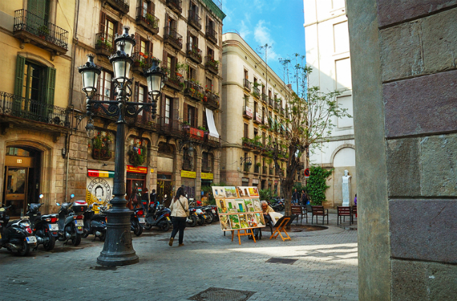 El born of barcelona stay in barcelona for Bar jardin barcelona