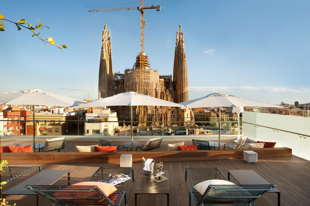 The three best rooftops in barcelona stay in barcelona for Hotel in barcellona