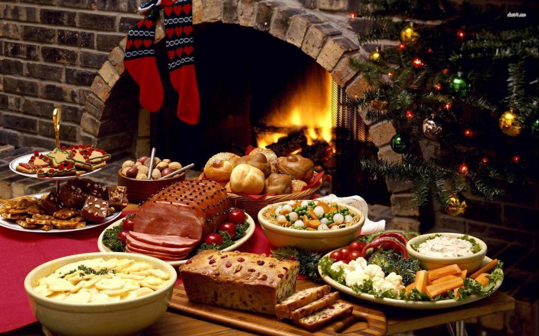 Christmas Meal.Typical Catalan Christmas Foods
