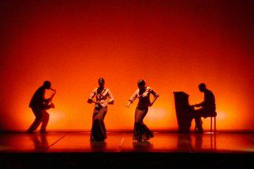 playing and dancing flamenco