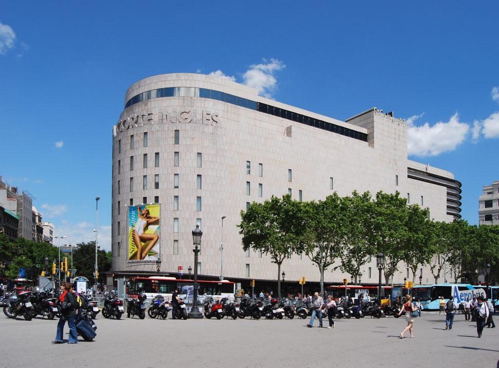 El Corte Ingles Barcelona plaza Catalunya