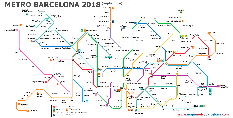 Barcelona Metro Map barcelona metro map | Stay Barcelona Apartments Blog Barcelona Metro Map